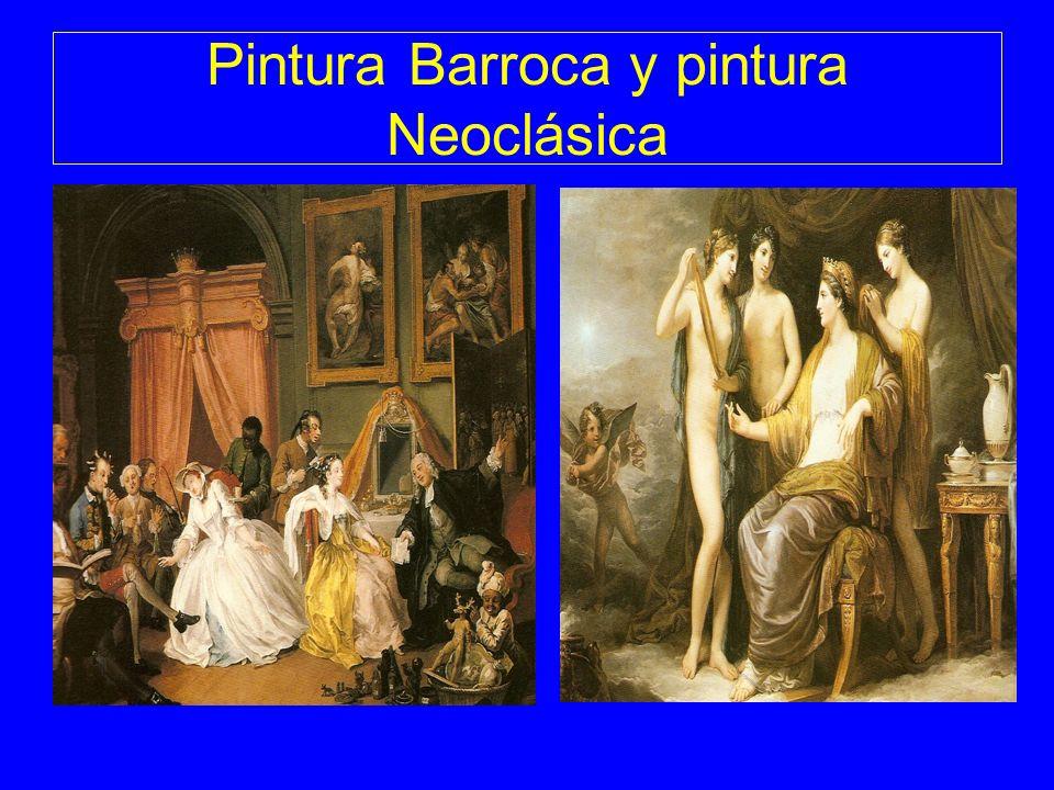 Pintura Barroca y pintura Neoclásica