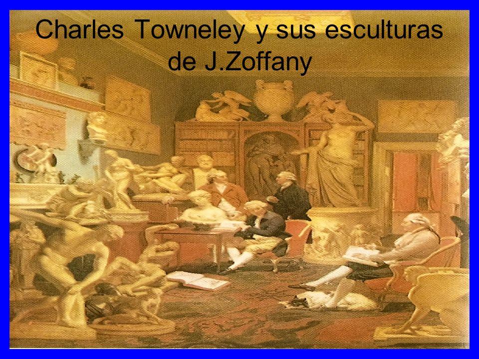 Charles Towneley y sus esculturas de J.Zoffany