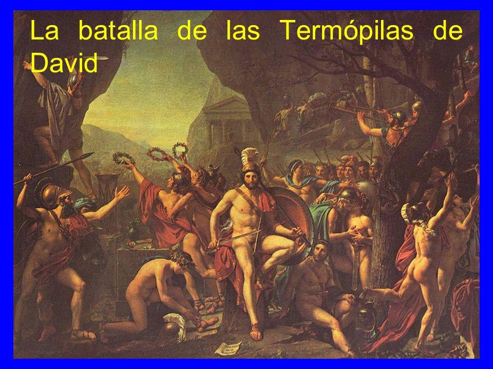 La batalla de las Termópilas de David