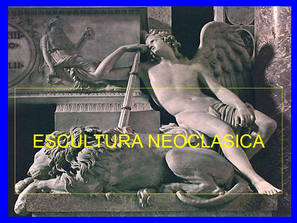 Características escultura neoclásica - Perfección técnica, gran dominio del oficio.