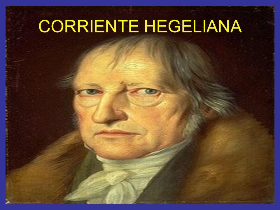 CORRIENTE HEGELIANA