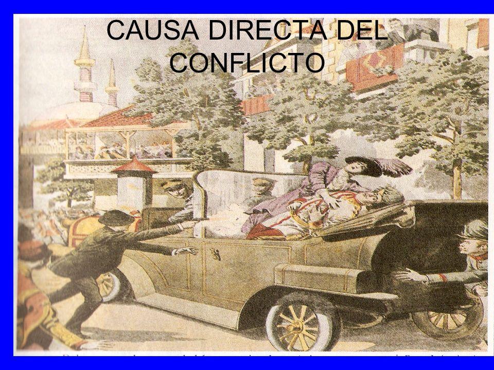 CAUSA DIRECTA DEL CONFLICTO