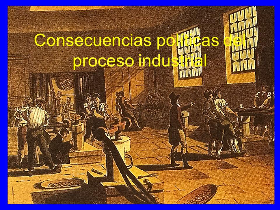Los obreros frente a las maquinas El ludismo Destrucción de las maquinas por los obreros ( Ned Lud).
