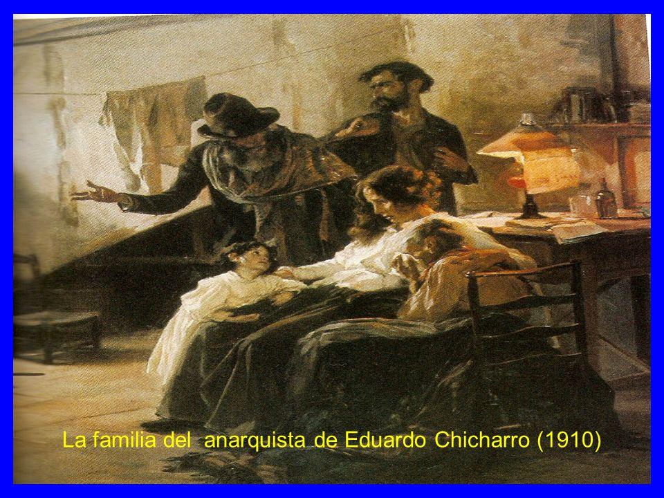 La familia del anarquista de Eduardo Chicharro (1910)