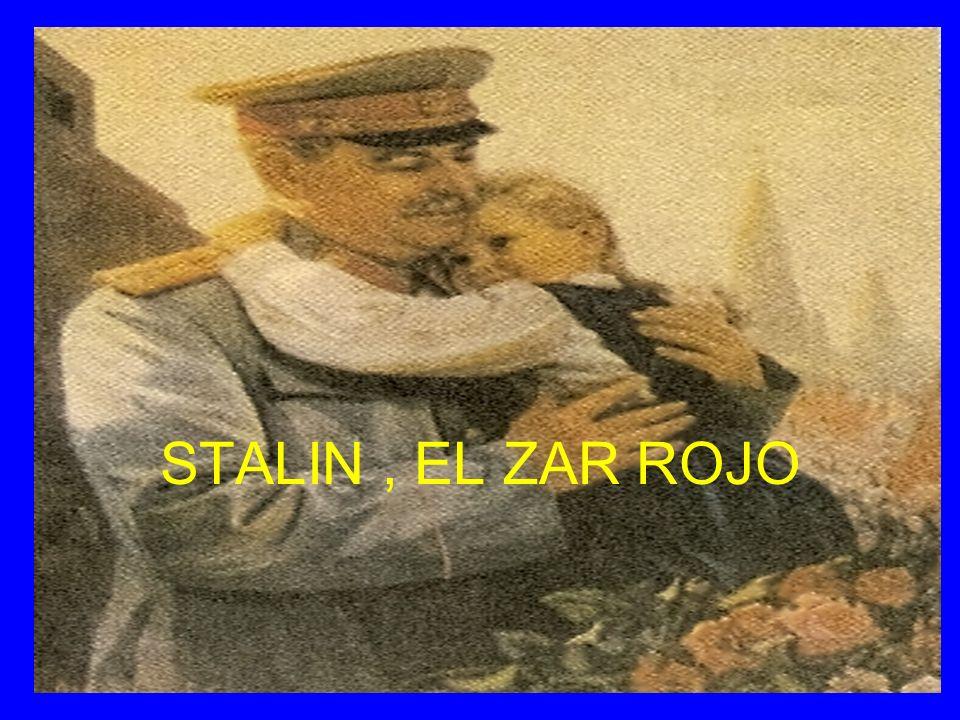 STALIN, EL ZAR ROJO
