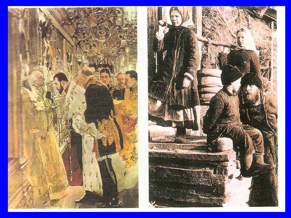 ETAPAS DE LA REVOLUCIÓN Derrotas en la gran guerra ; provocan el desprestigio de la corona zarista.