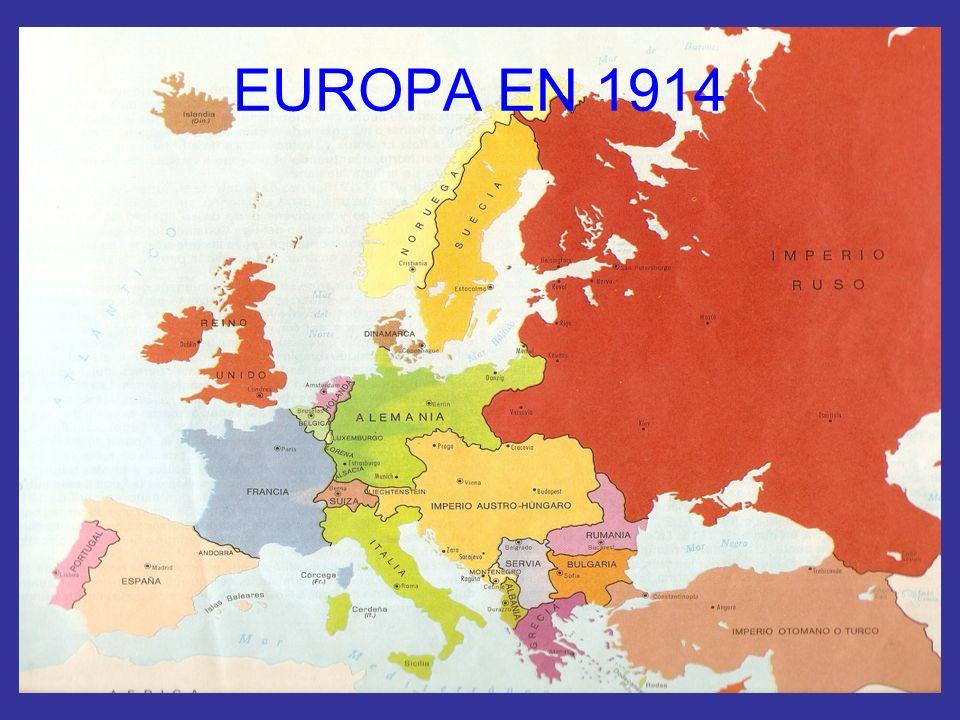 EUROPA EN 1914