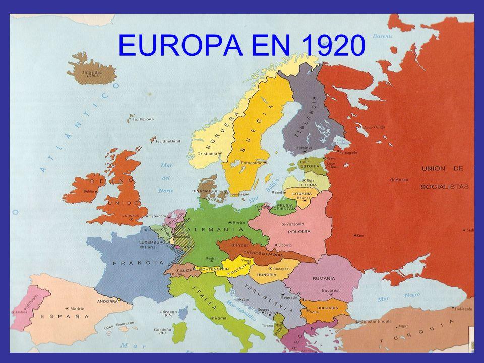 EUROPA EN 1920