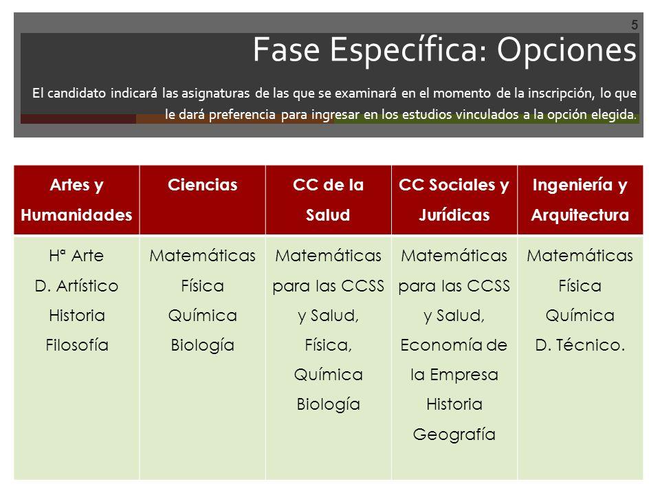 Calificación de la Prueba Cada uno de los ejercicios objeto de la prueba se calificará de 0 a 10.