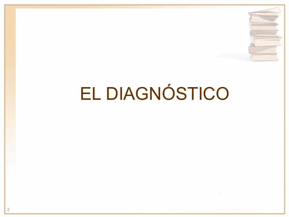 2 EL DIAGNÓSTICO