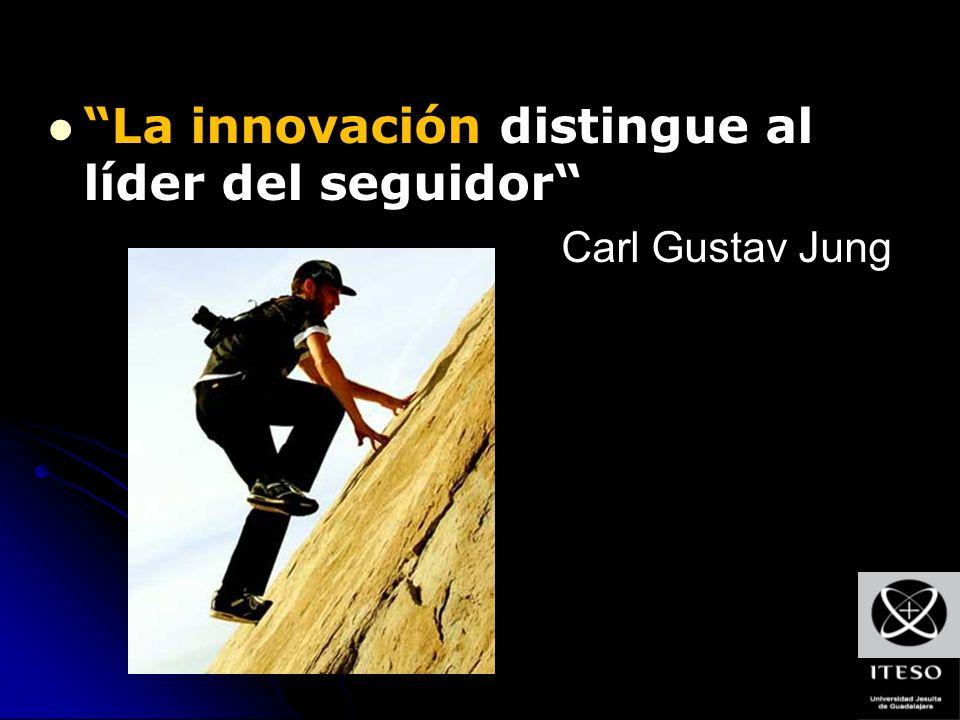 La innovación distingue al líder del seguidor Carl Gustav Jung