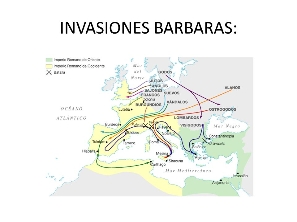 INVASIONES BARBARAS: