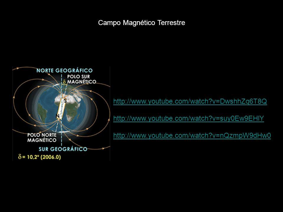 La Tierra tiene un campo magnético con polos Norte y Sur.