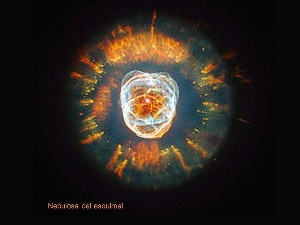 ORGANIZACIÓN DEL UNIVERSO: las nebulosas Son masas localizadas de gases y pequeñas partículas de polvo que se pueden encontrar en cualquier lugar del