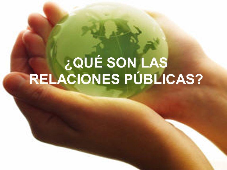 Las relaciones públicas constituyen un proceso que implica muchas cuestiones sutiles y de gran alcance.