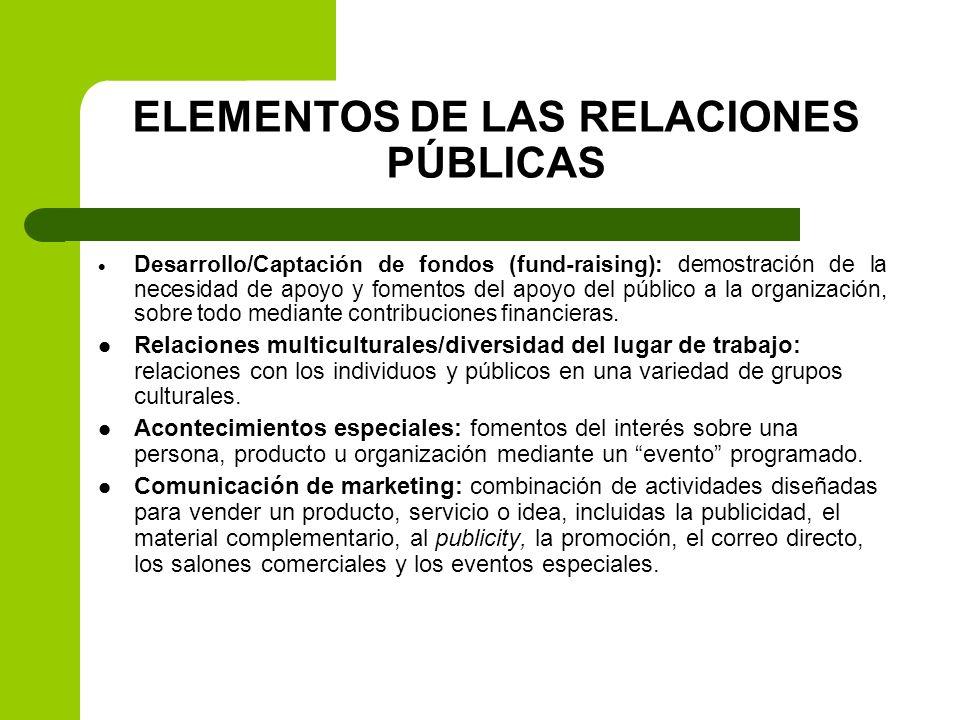DIFERENCIAS ENTRE RELACIONES PÚBLICAS Y PUBLICIDAD Existe cierta confusión entre la publicity (un área de las relaciones públicas) y la publicidad.