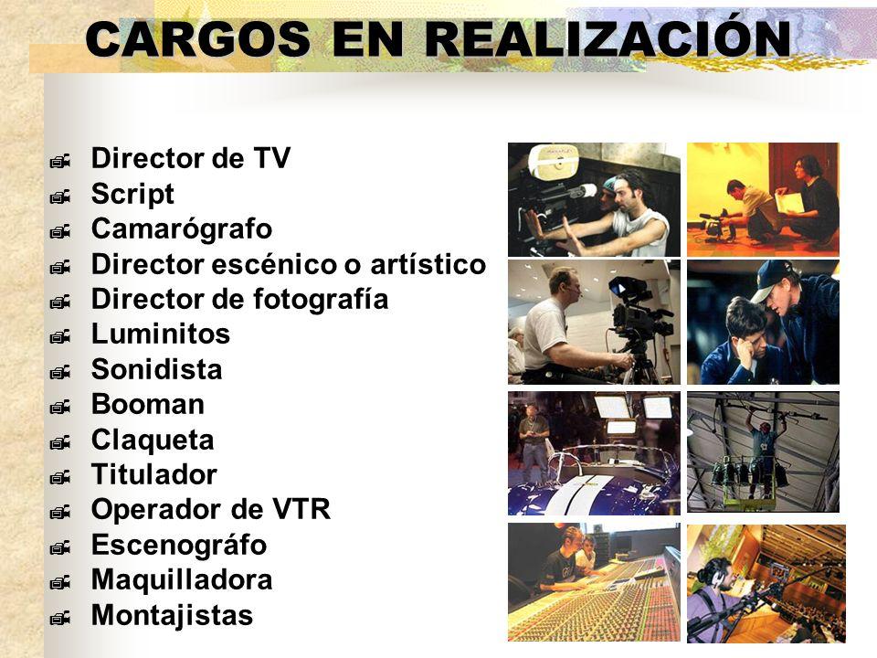 FUENTES DE CONSULTA Televisión, realización y lenguaje audiovisual Castillo, José María Producción en Televisión.