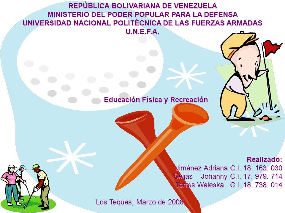 REPÚBLICA BOLIVARIANA DE VENEZUELA MINISTERIO DEL PODER POPULAR PARA LA DEFENSA UNIVERSIDAD NACIONAL POLITÉCNICA DE LAS FUERZAS ARMADAS U.N.E.F.A. Edu