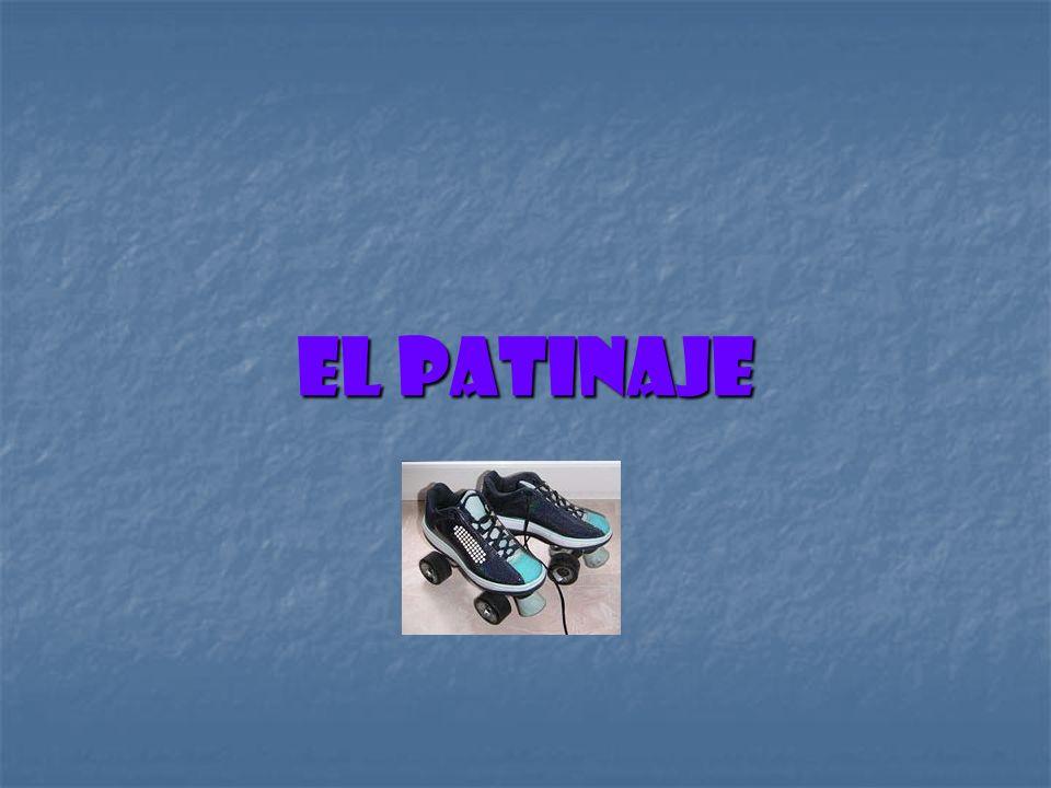 Es una actividad recreativa y deportiva consistente en deslizarse sobre una superficie regular mediante unos patines colocados en los pies.