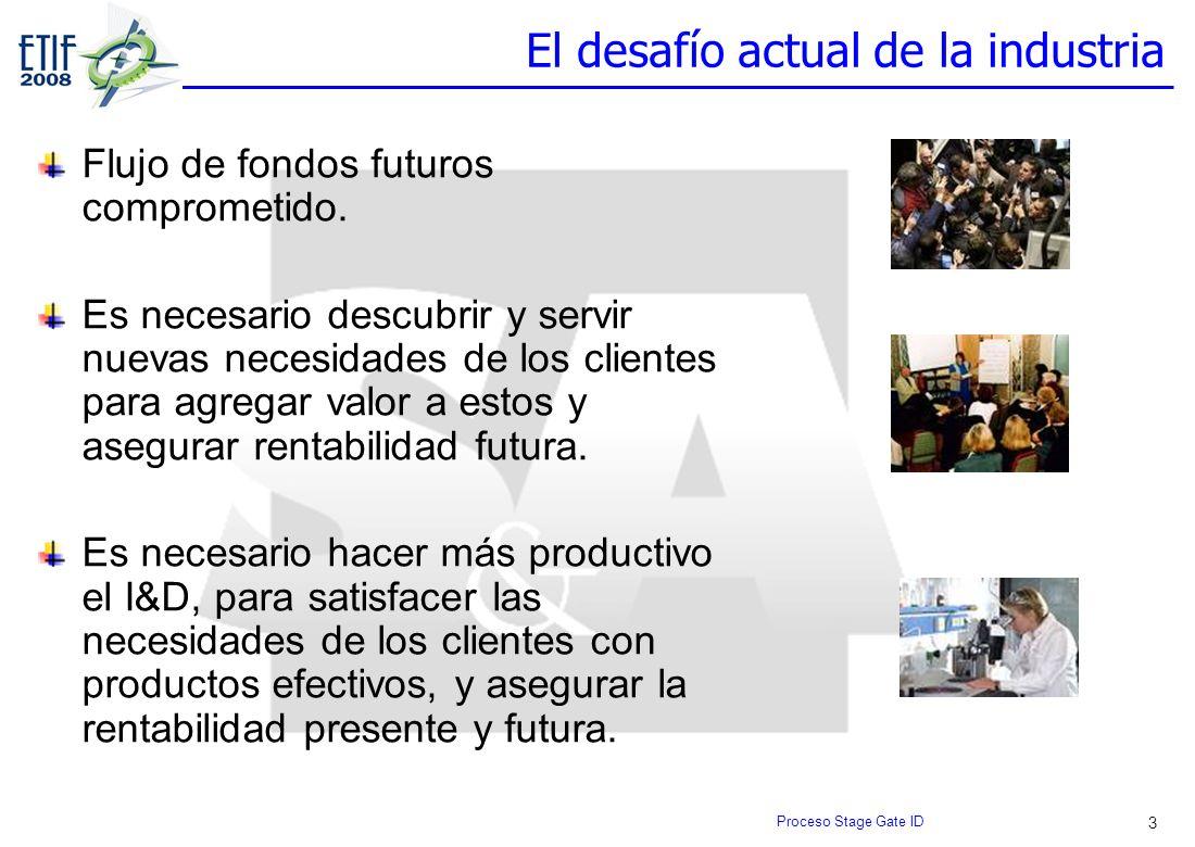 3 El desafío actual de la industria Flujo de fondos futuros comprometido. Es necesario descubrir y servir nuevas necesidades de los clientes para agre