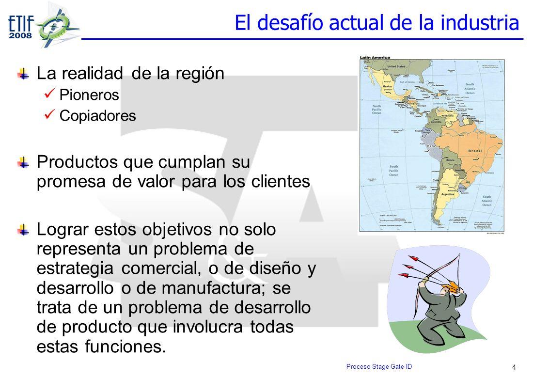 4 El desafío actual de la industria La realidad de la región Pioneros Copiadores Productos que cumplan su promesa de valor para los clientes Lograr es