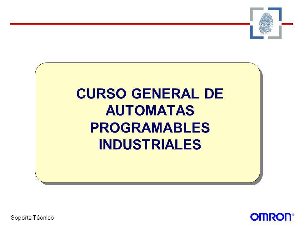 Soporte Técnico CURSO GENERAL DE AUTOMATAS PROGRAMABLES INDUSTRIALES