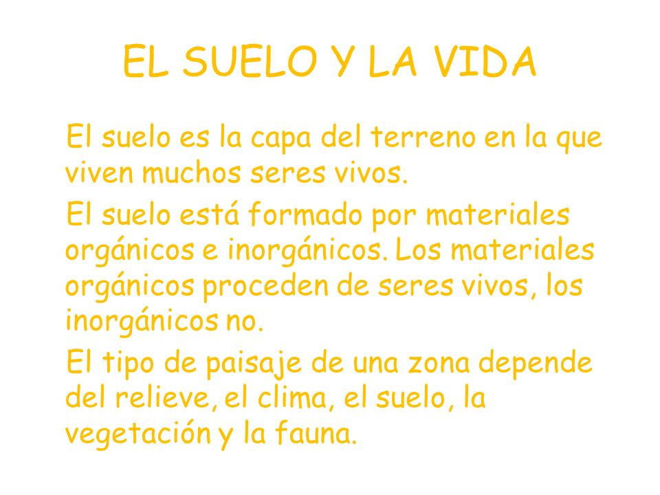 TEMA 10. EL SUELO LA FAUNA Y LA VEGETACIÓN