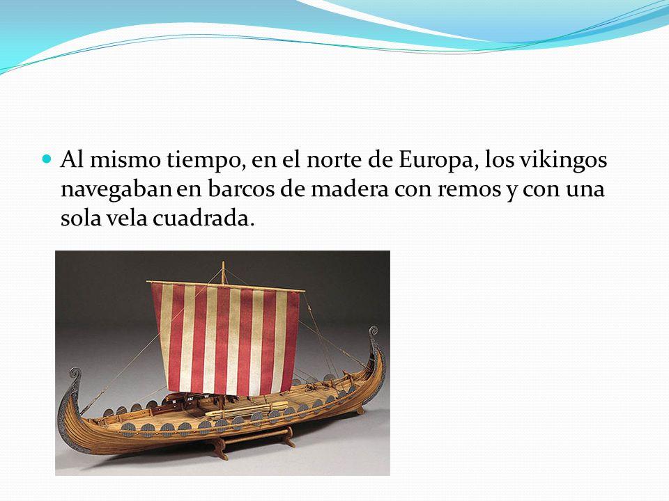 En la época de las Cruzadas, la evolución naval, se afianza en la construción del aparato militar de los barcos como las galeras y los galeones