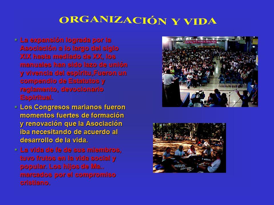 §La expansión lograda por la Asociación a lo largo del siglo XIX hasta mediado de XX, los manuales han sido lazo de unión y vivencia del espíritu,Fuer