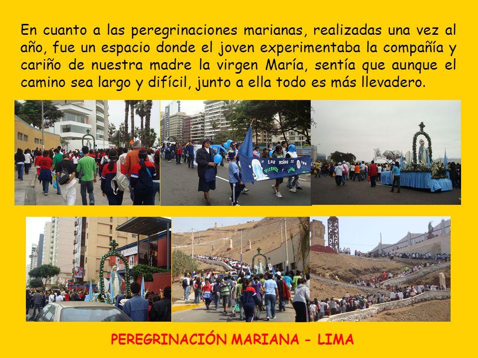La Peregrinación no solo se llevó a cabo en Lima, sino en provincia, resaltando en este aspecto la región Sur Chico.