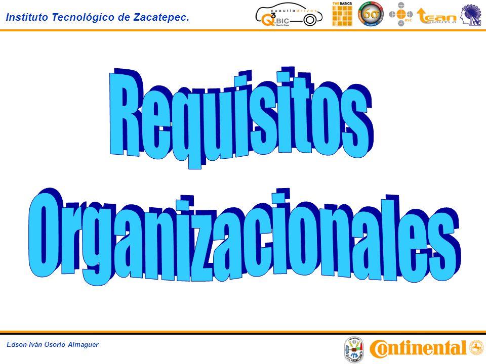 Instituto Tecnológico de Zacatepec. Edson Iván Osorio Almaguer Operations EBS – Global Organization