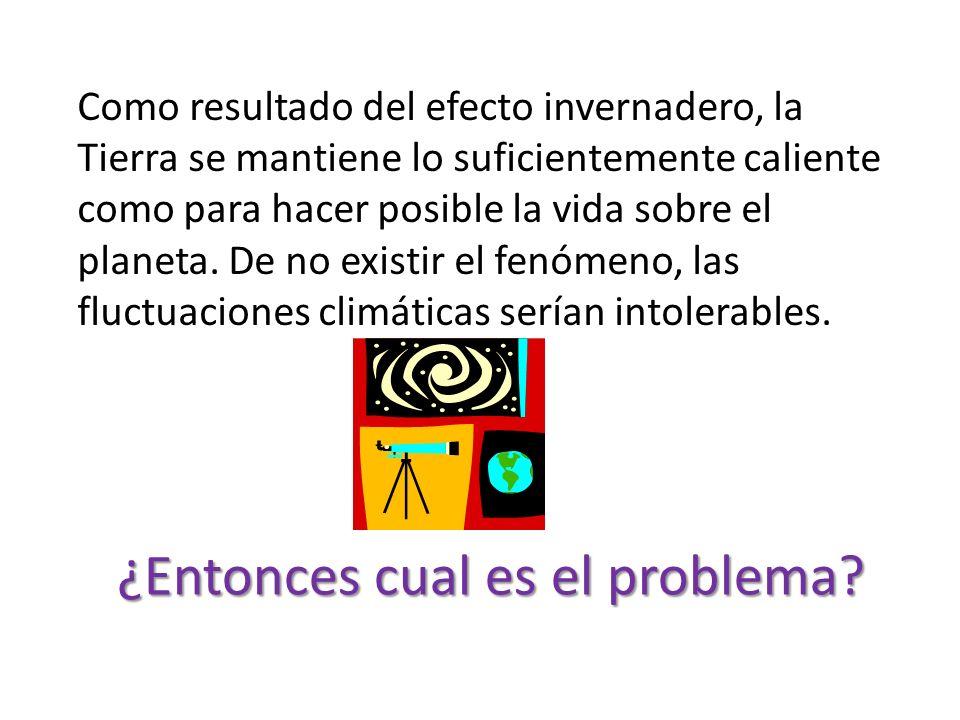 El efecto invernadero es un fenómeno atmosférico natural que permite mantener la temperatura del planeta, al retener parte de la energía proveniente d