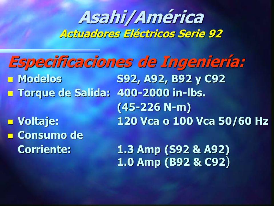 Asahi/América Serie 92 VS.