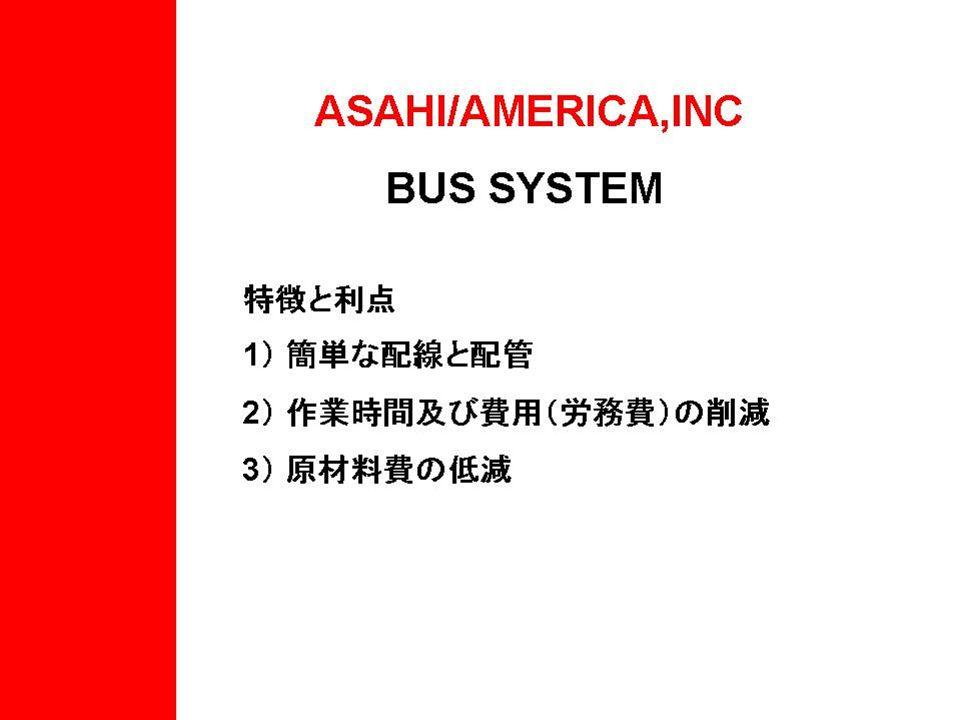 Asahi/América Nueva Tecnología Sistemas Bus ActuaciónEléctrica y Neumática Actuación Eléctrica y Neumática