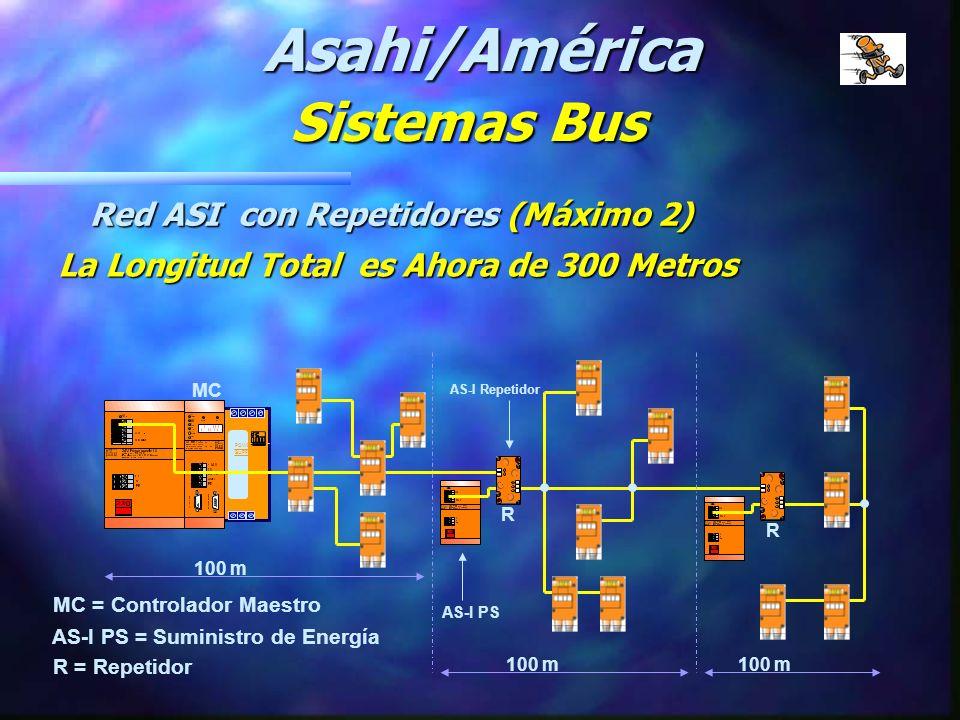 POWER SUPPLY 100 m AS-i PS Controlador AS-i 24VDC PS M Asahi/América Sistemas Bus Red Estándar ASI Longitud Máxima de 100 Metros