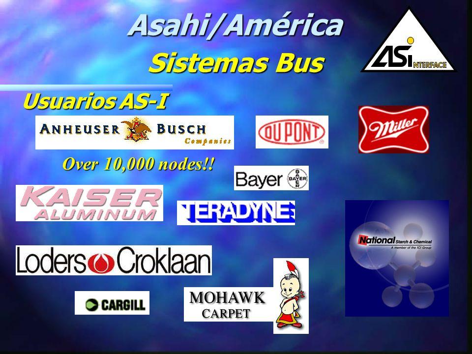 FabricantesAS-I Fabricantes AS-I Asahi/América Sistemas Bus