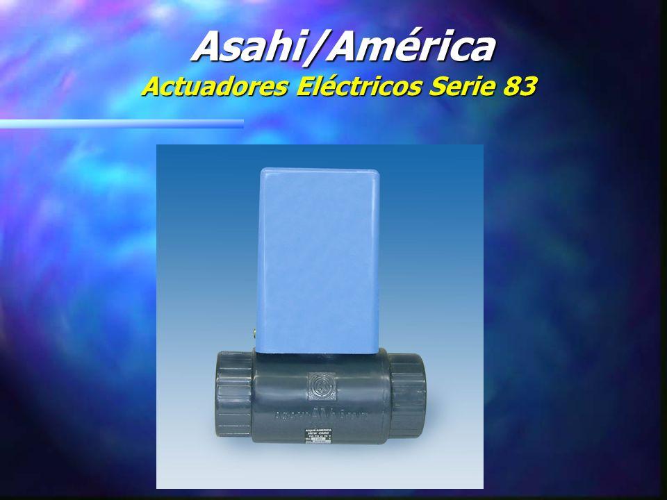 Asahi/América Actuadores Eléctricos Serie 83