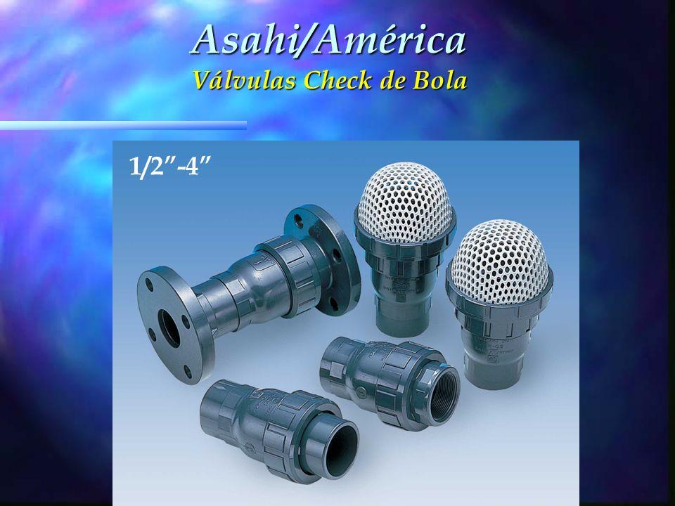 Asahi/América Válvulas Check de Bola 1/2-4