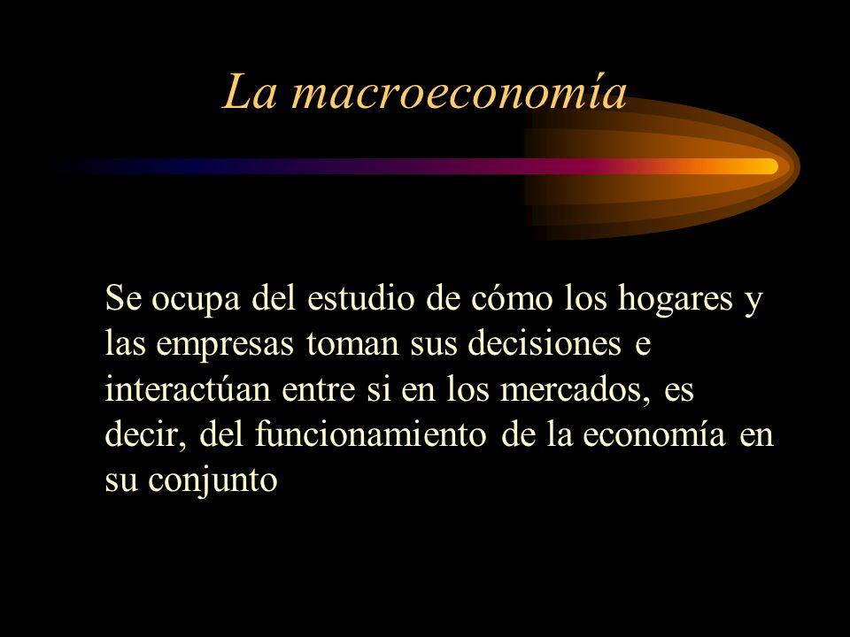 Objetivos Macroeconómicos Elevado nivel y rápido crecimiento de la producción y el consumo Baja tasa de desempleo y elevado empleo Estabilidad en el nivel de precios, esto es, control de la inflación Déficit público Déficit exterior Tipo de cambio