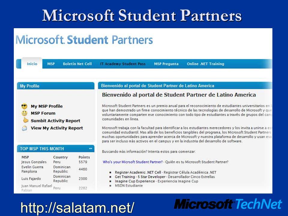 Microsoft Student Partners http://salatam.net/