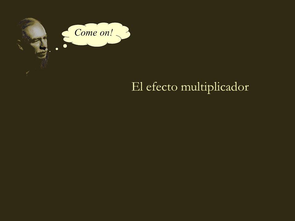 coll@uma.es El efecto multiplicador Come on!