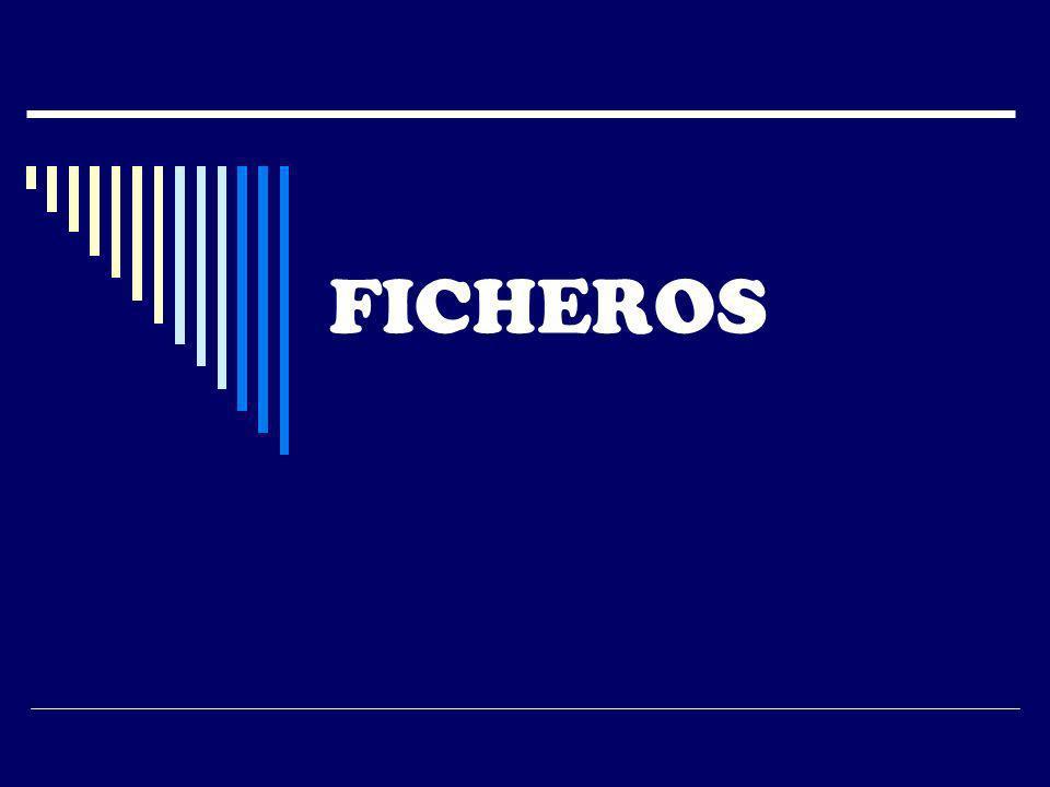 FICHEROS
