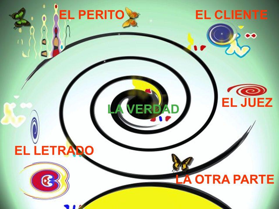97 EL PERITO EL LETRADO EL JUEZ LA OTRA PARTE EL CLIENTE LA VERDAD