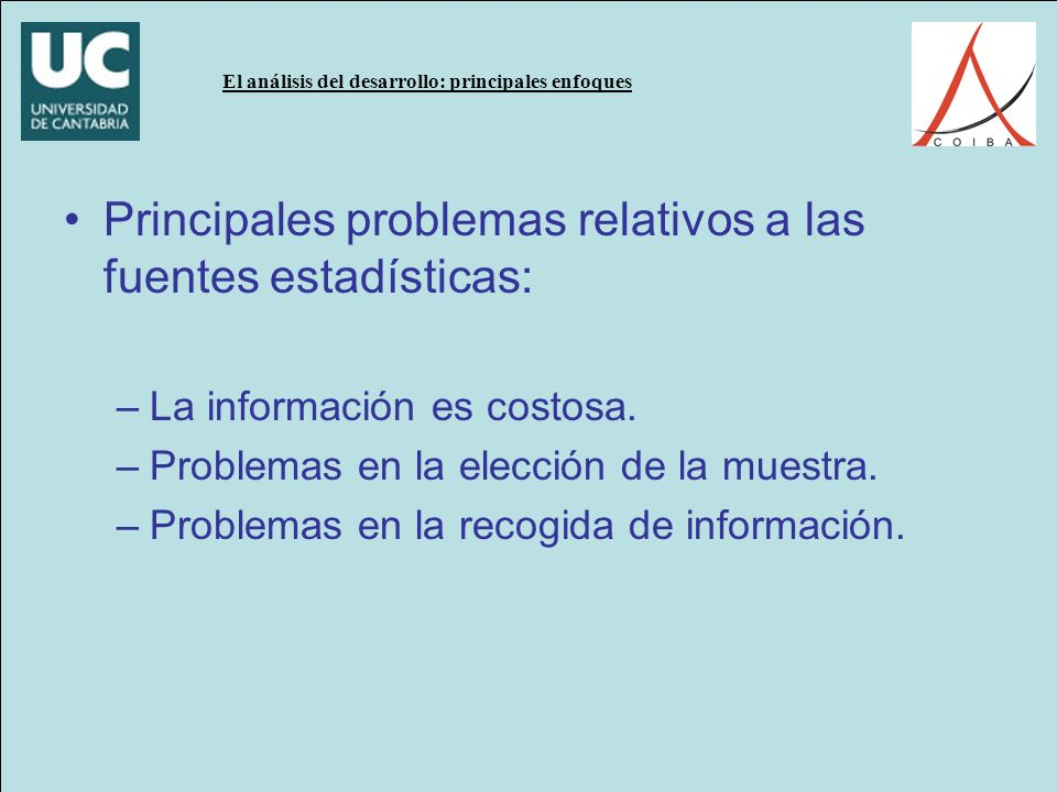 El análisis del desarrollo: principales enfoques Institutions rule: the primacy of institutions over geography and integration in economic development D.