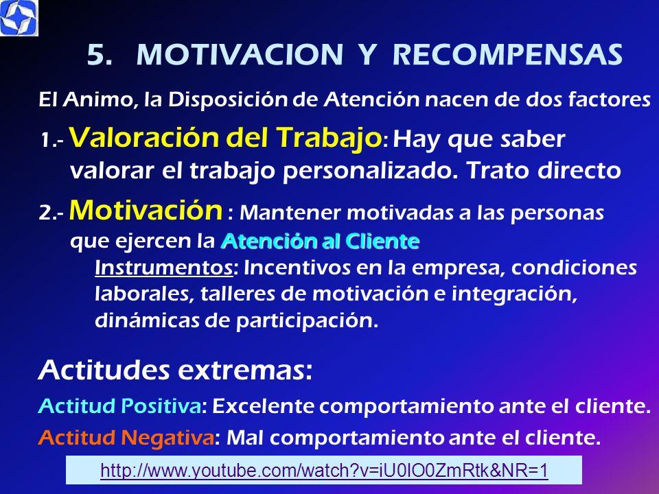 Aspectos que el Cliente evalúa de los empleados: Apariencia : imagen personal que se quiere proyectar. Impresión que el Cliente se lleva con relación