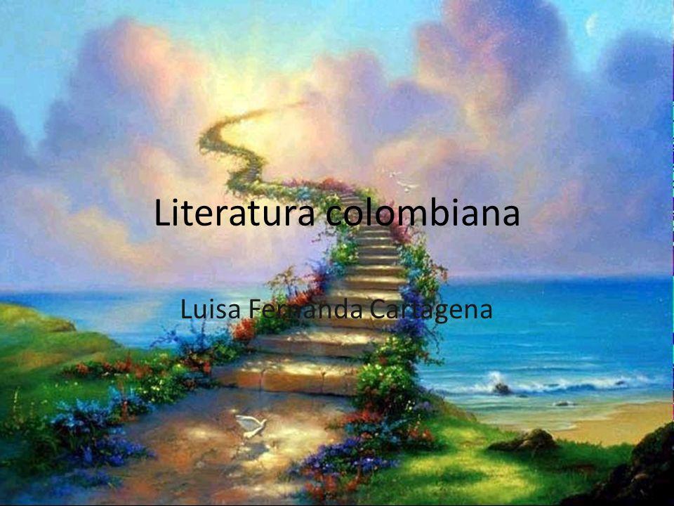Literatura colombiana Luisa Fernanda Cartagena