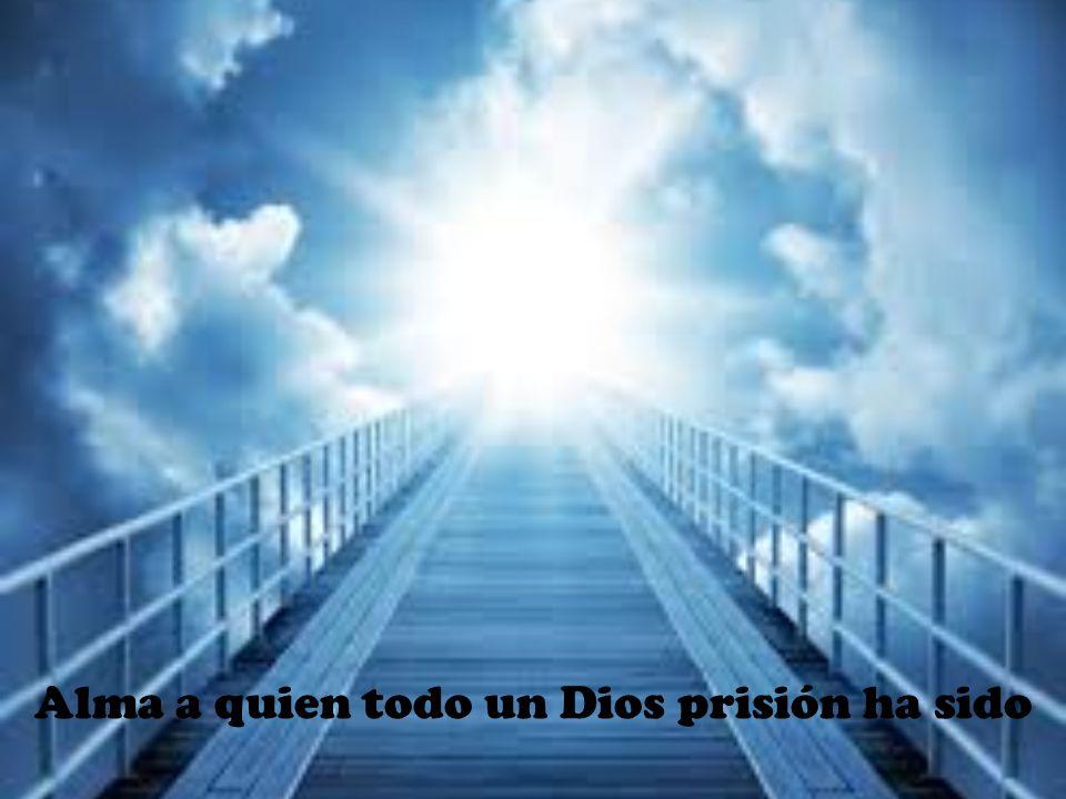 Alma a quien todo un Dios prisión ha sido