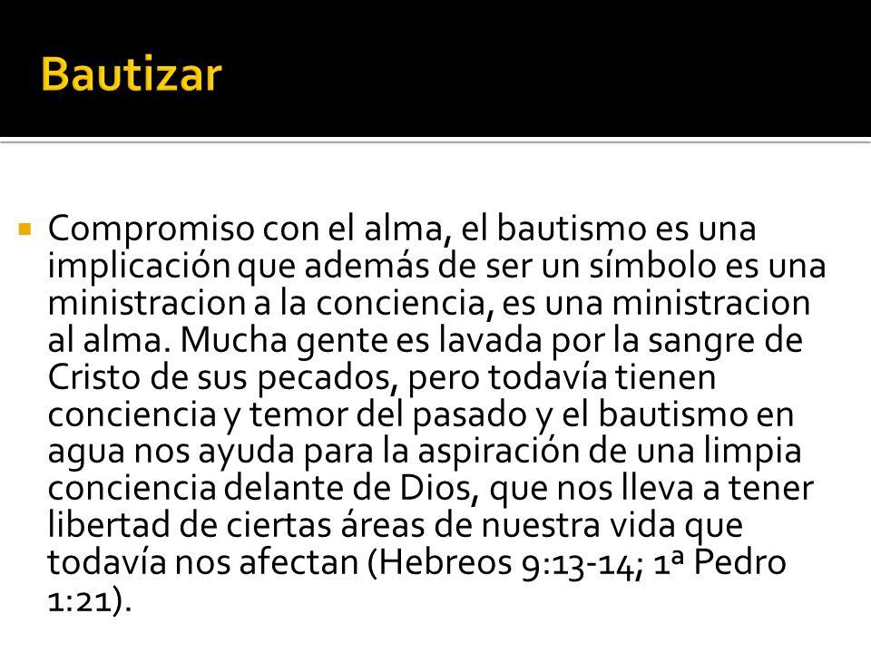 El Bautismo De Cristo.