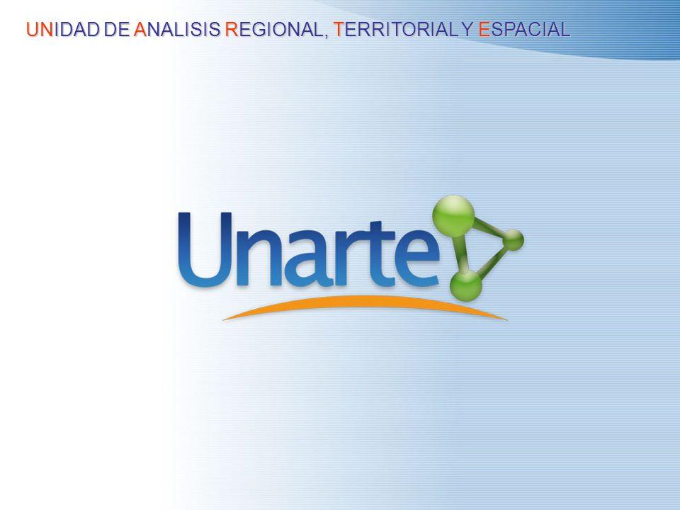 UNIDAD DE ANALISIS REGIONAL, TERRITORIAL Y ESPACIAL