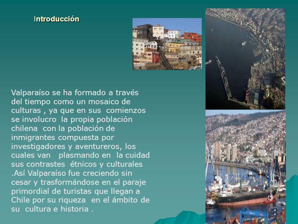 Presentación del Área Valparaíso es una comuna chilena del litoral central esta ubicada a 33º 02 Latitud Sur y 71º 37 Longitud Oeste.